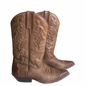 Sancho Cowboy Cowgirl Boots Made in Spain Size 38
